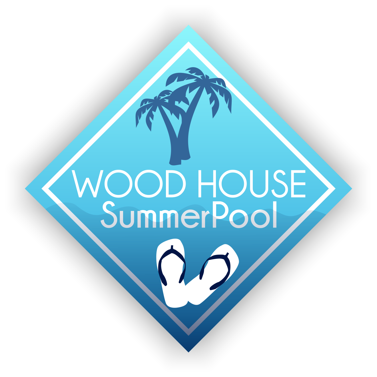 logo summer pool